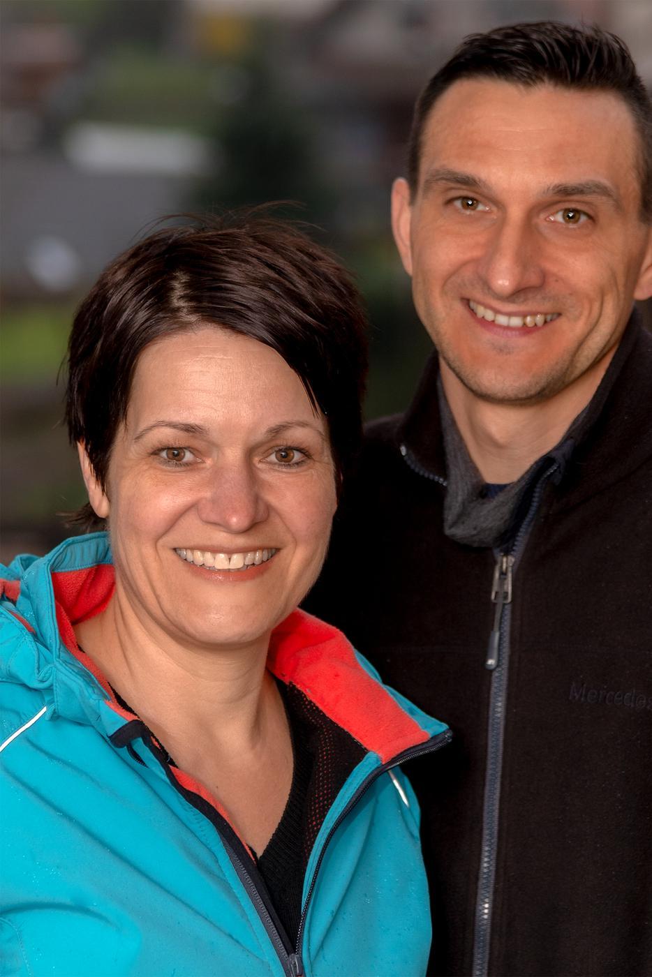 Monja Roflik und Andreas Kroner aus Forbach-Langenbrand