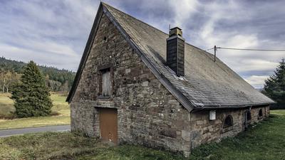 Der Alte Rossstall in Forbach-Herrenwies soll zum Nationalpark-Haus umgebaut werden. Die Arbeiten verzögern sich seit Jahren.