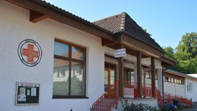 Das DRK-Gebäude in Gernsbach.