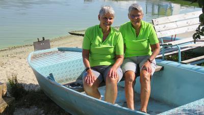 Heinke Retz und Elke Wetzel-Imse (von links)