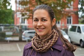 Im Einsatz gegen Extremismus: Olena Shkliarenko arbeitet als Respekt Coach an der HLA Gernsbach und der HLA Rastatt. Sie soll Schülern ein Gemeinschaftsgefühl und eine gute Gesprächskultur vermitteln.