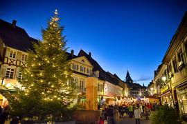 Lichterglanz Weihnachtsmarkt 2019 Altstadt Gernsbach