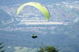 Die Teufels-Flieger haben zwei Startplätze, die sie bei der Teufelsmühle in Loffenau nutzen können. Beide führen sie übers Murgtal.