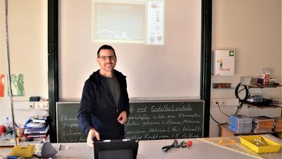 Weisenbacher Schulleiter Oliver Hintzen