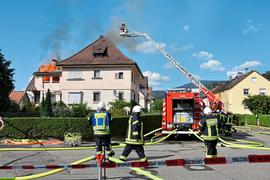 Ein juristisches Nachspiel hat der Brand in der Gernsbacher Nordendstraße vom Juli 2018: Vor dem Amtsgericht wurde am gestrigen Dienstag der Vorwurf der fahrlässigen Brandstiftung gegen einen 50-Jährigen verhandelt.