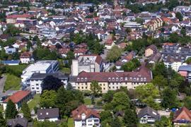 Krankenhaus Klinikum Achern Luftbild