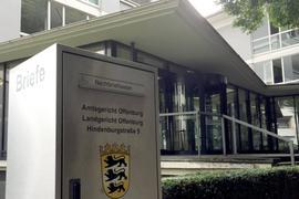 Das Justizgebäude mit dem Landgericht in Offenburg. Foto: Jürgen Ruf/Archiv