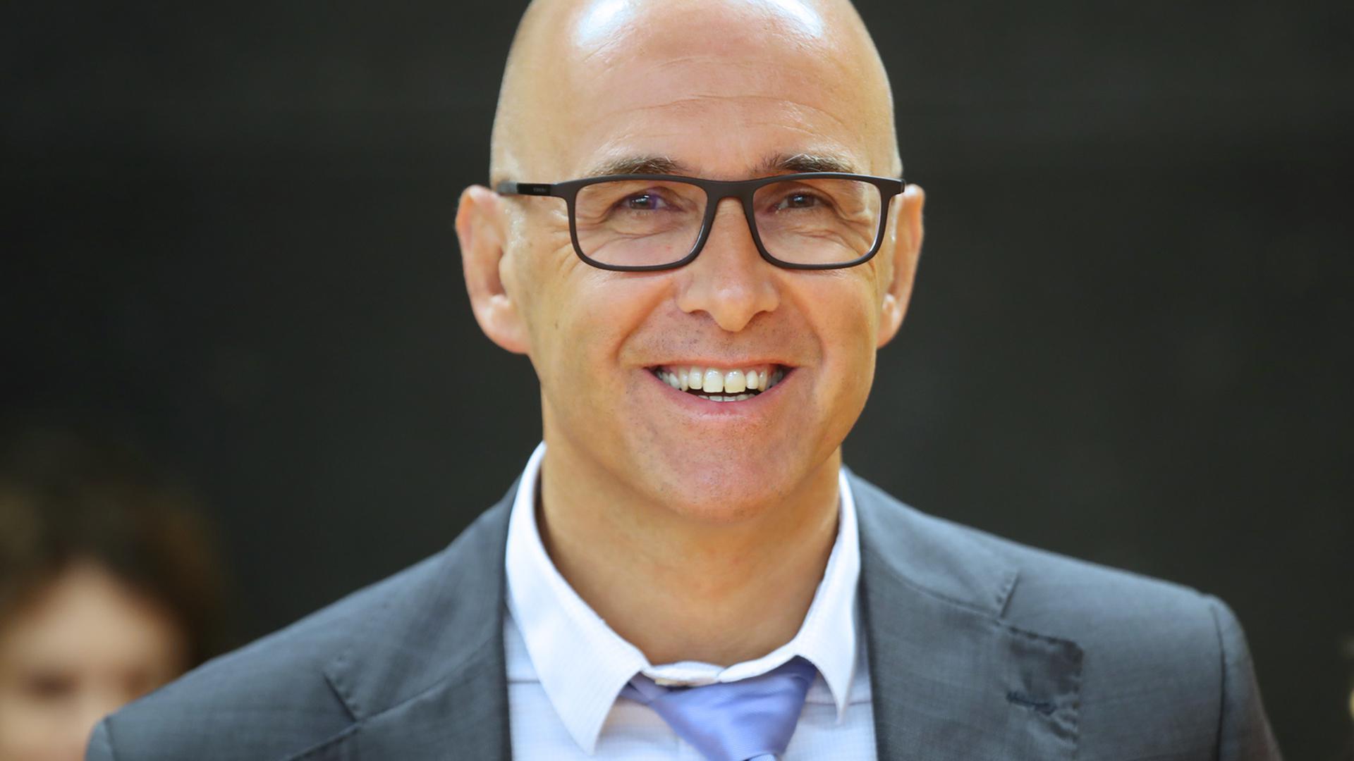 Frédéric Bierry président du conseil départemental du Bas-Rhin à Strasbourg le 2 septembre 2019.