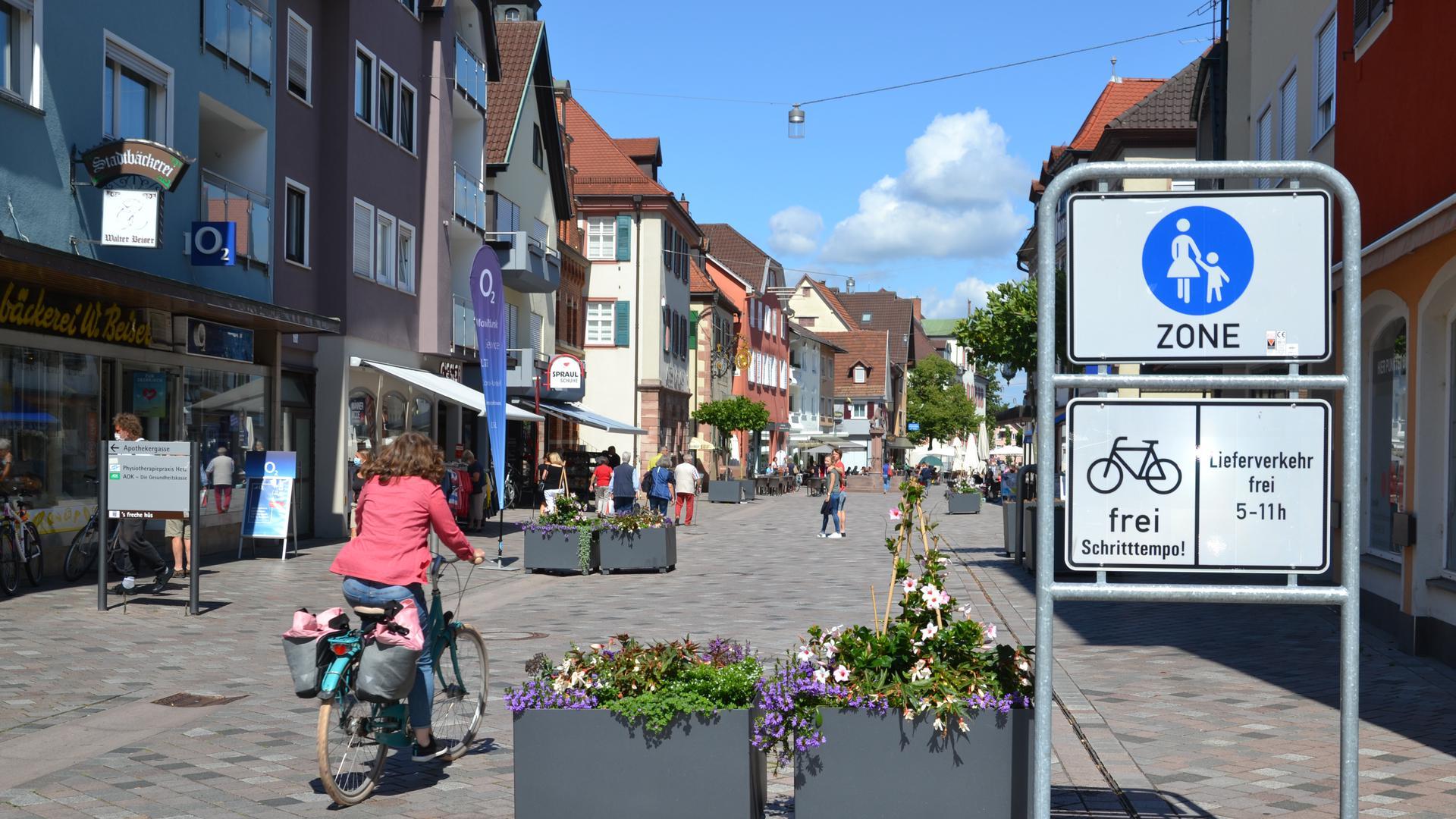 Oberkirch Fußgängerzone Bürgerentscheid