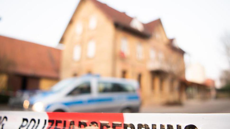 In diesem Haus in Rot am See erschoss der 27-Jährige sechs Menschen.