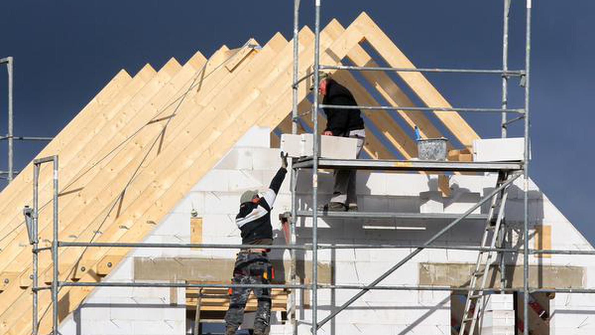 Bauland und Immobilien rund um Achern sind gefragt.  Symbolbild.