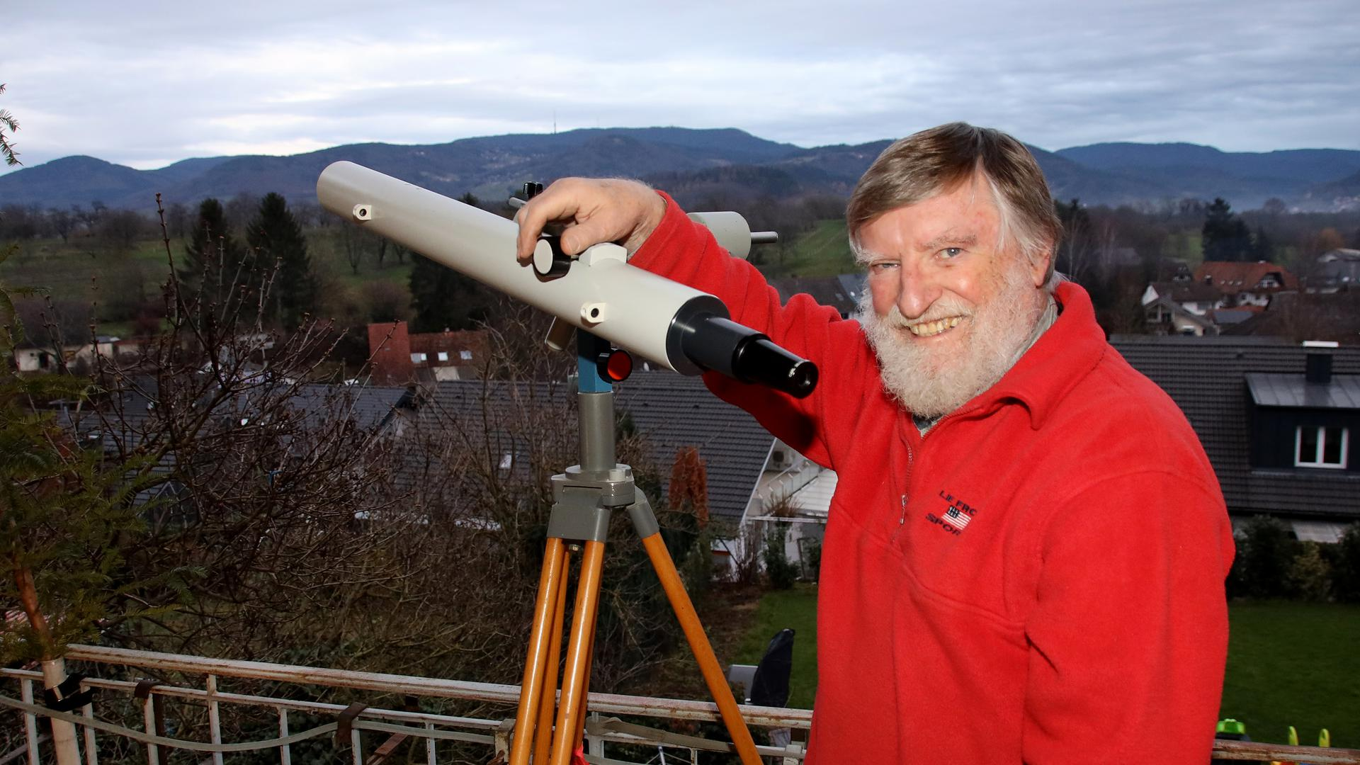 Klaus Meyer, Astronom aus Fautenbach