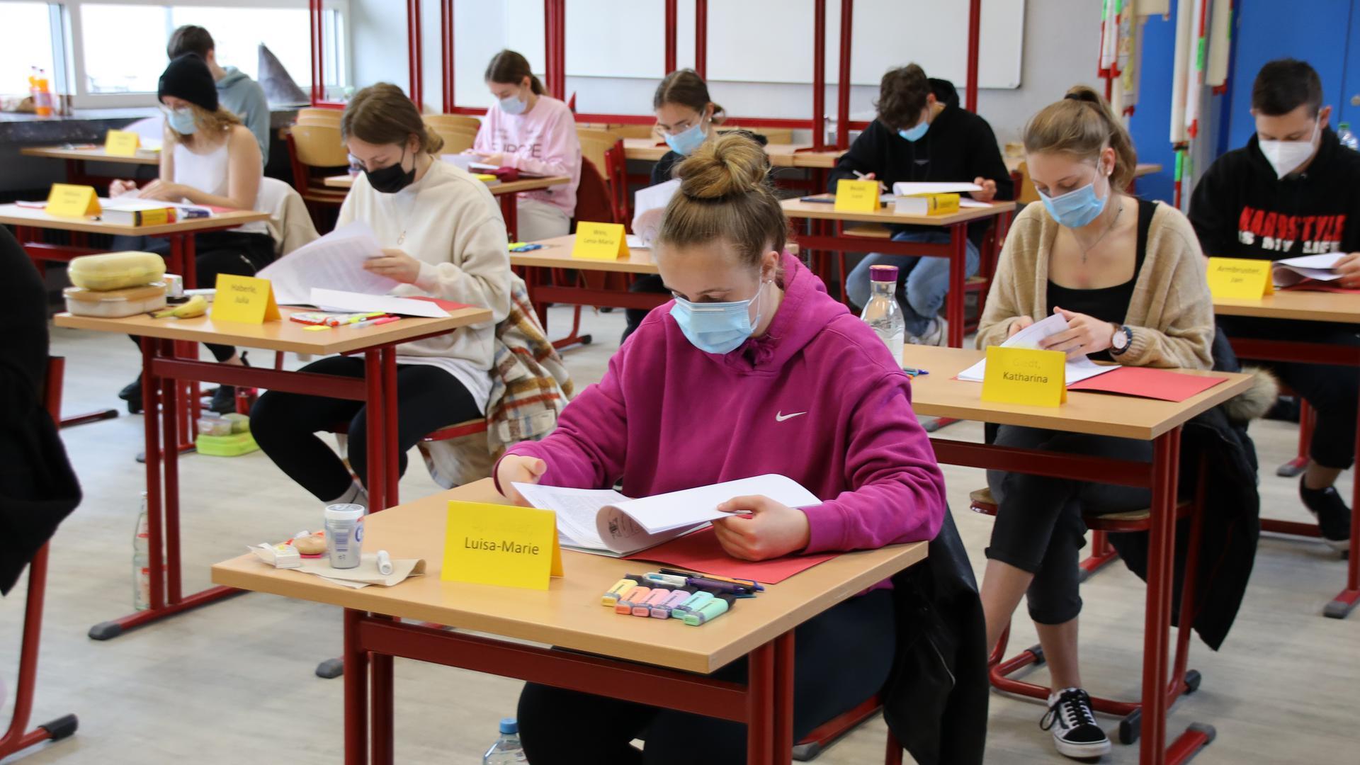 Erstes Abitur nach der jüngsten Oberstufenreform