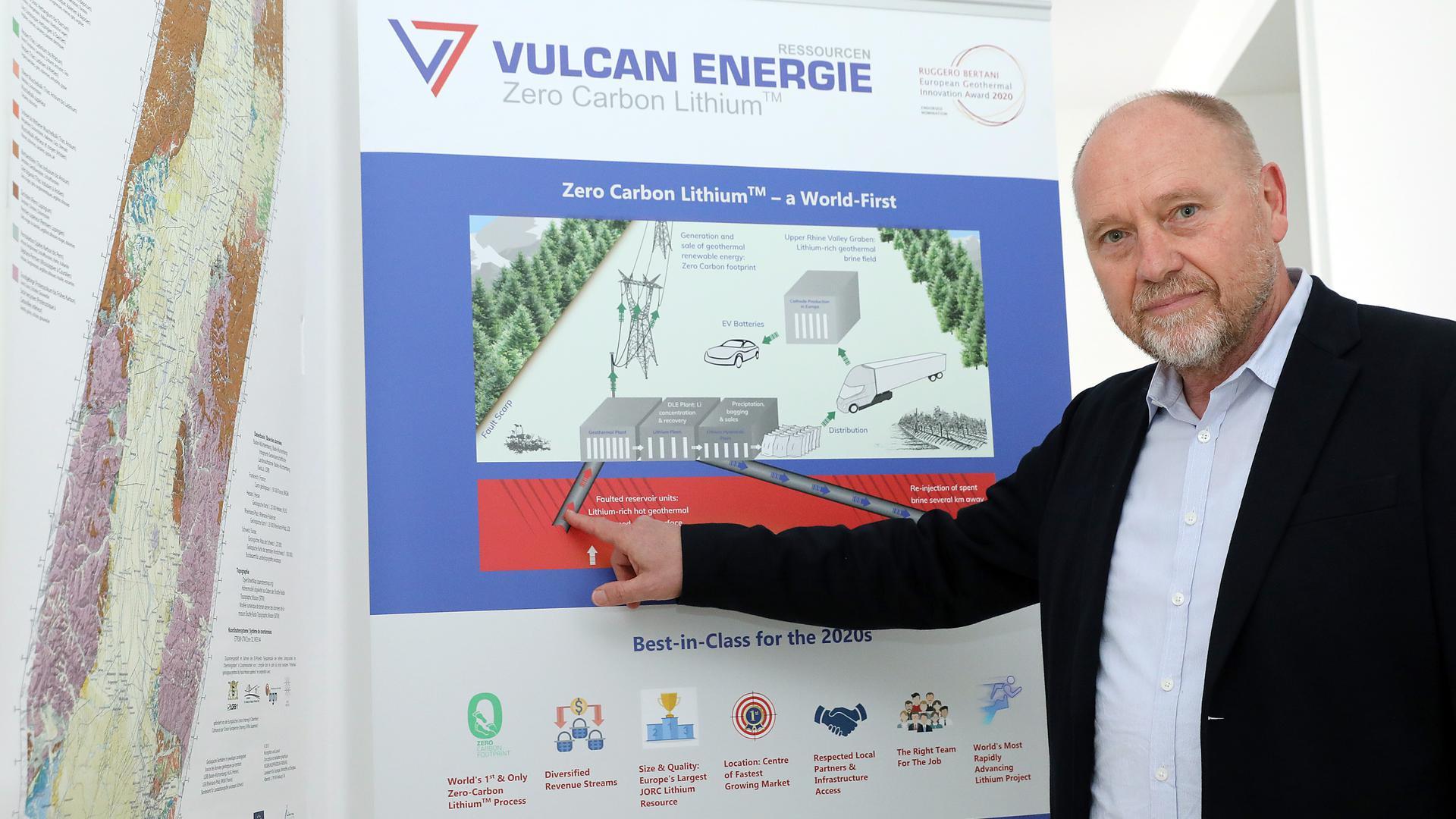 Horst Kreuter, Chef von Vulcan-Gruppe
