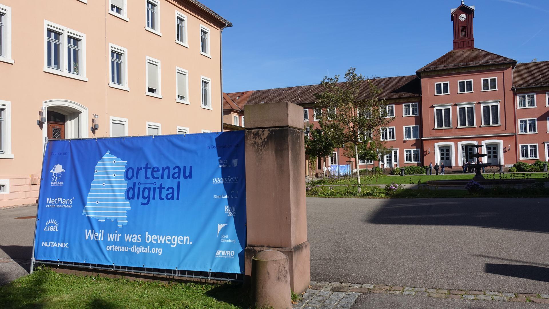 Digital-Schild und Illenau