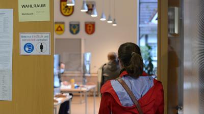 Wahllokal in Freistett