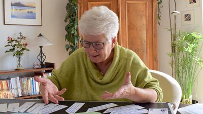 Elisabeth Fuchs, pensionierte Lehrerin für Kinder mit Behinderung, macht sich mit für ein Begegnungszentrum in Achern stark, in dem alle willkommen sind.