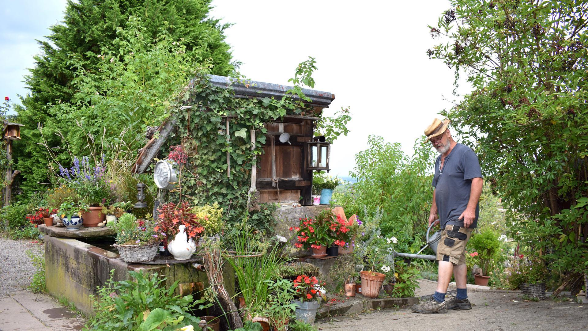 Garten In Sasbachwalden Wird Liebevoll Gepflegt Wer Macht Sich So Viel Arbeit