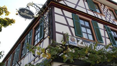 """Auswanderer aus Achern - Die Spur der """"Richter-Skala"""" führt in das Gasthaus Zur Hoffnung"""