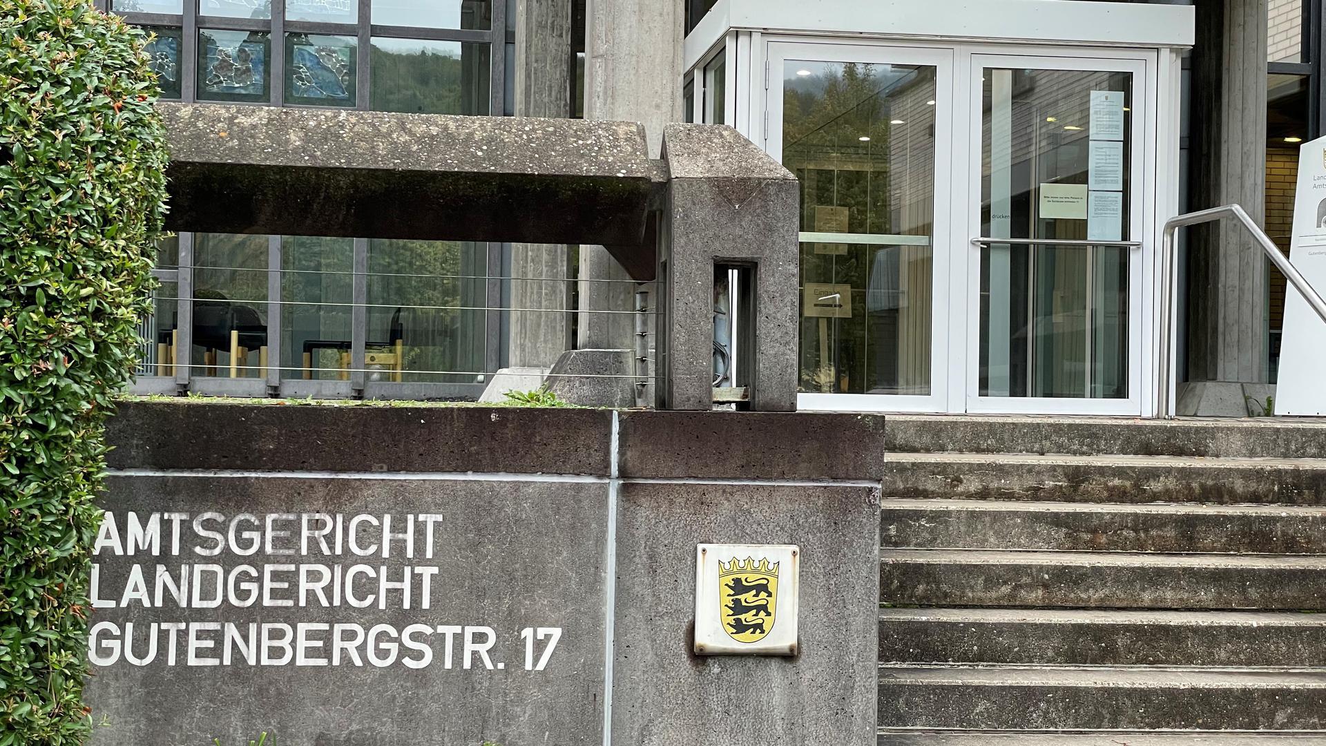 Amts- und Landgericht Baden-Baden am 7. Oktober 2021