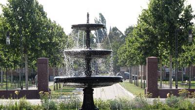 Brunnen in Illenau