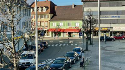 Rathausplatz in Achern