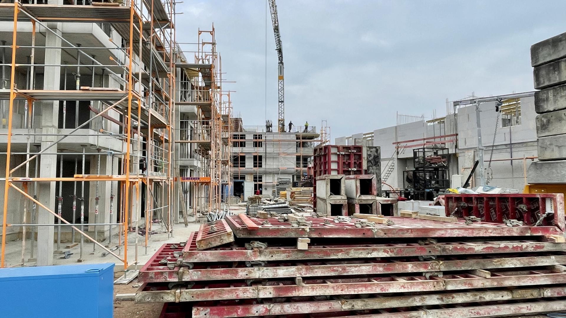 Neues Wohnen an der Acher: Auf dem Gelände der Glashütte entstehen 400 neue Wohnungen