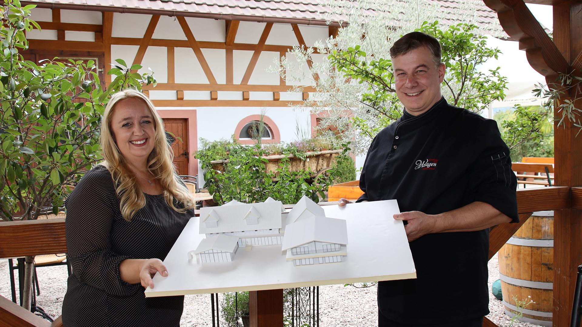 Gasthaus Wagen in Sasbachried baut für 1,4 Millionen Euro ein Landhotel und bekommt dafür 225.000 Euro ELR-Förderung vom Land Baden-Württemberg und schafft neue Arbeitsplätze