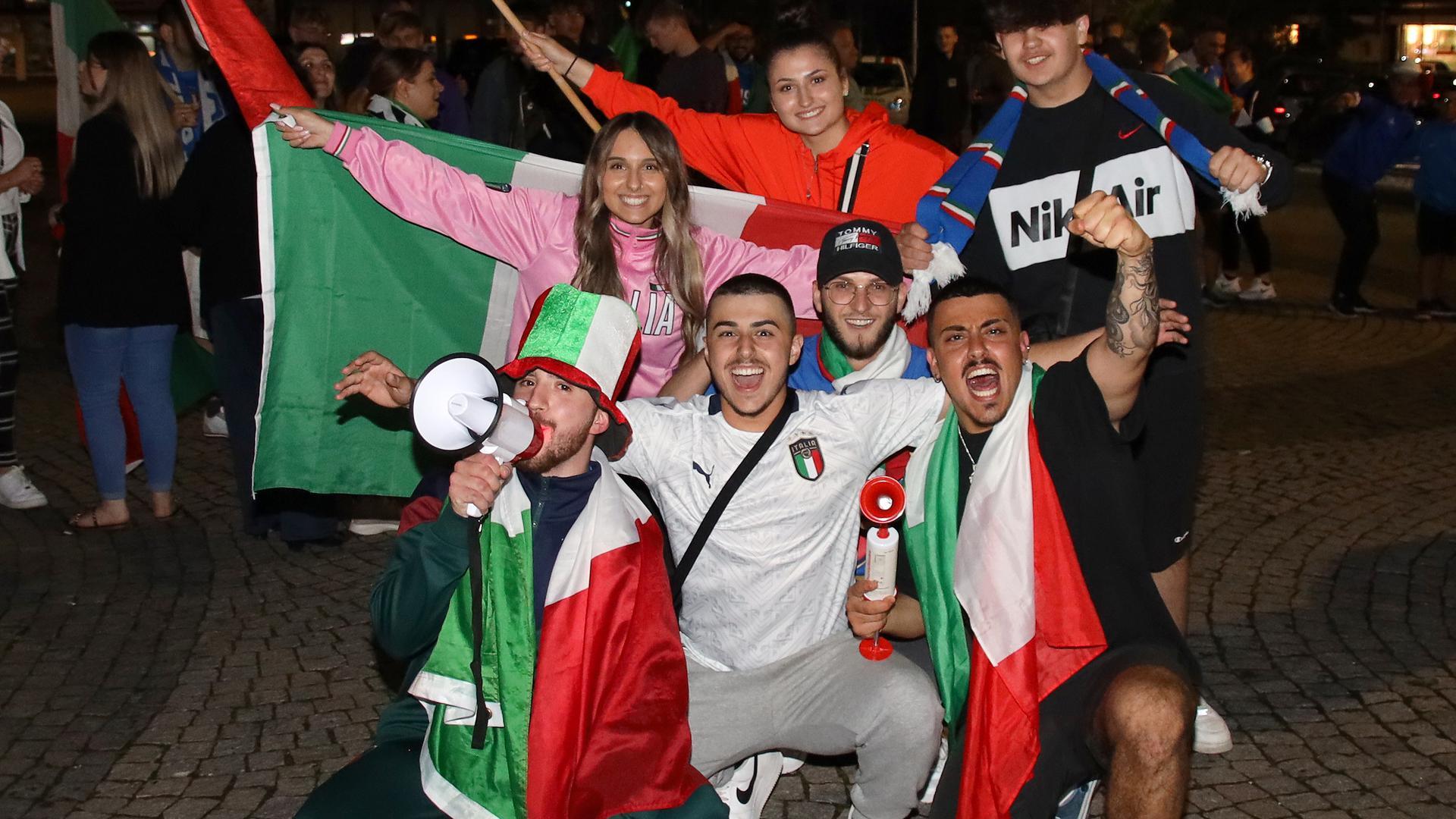 Italiener in Achern und Sasbach tippen ganz klar auf Italien