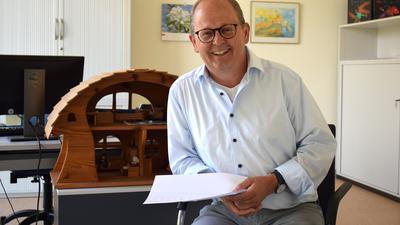 Michael Karle leitet die Psychologische Beratungsstelle für Eltern, Kinder und Jugendliche in der Illenau in Achern und berichtet von einem steigendem Beratungsbedarf.