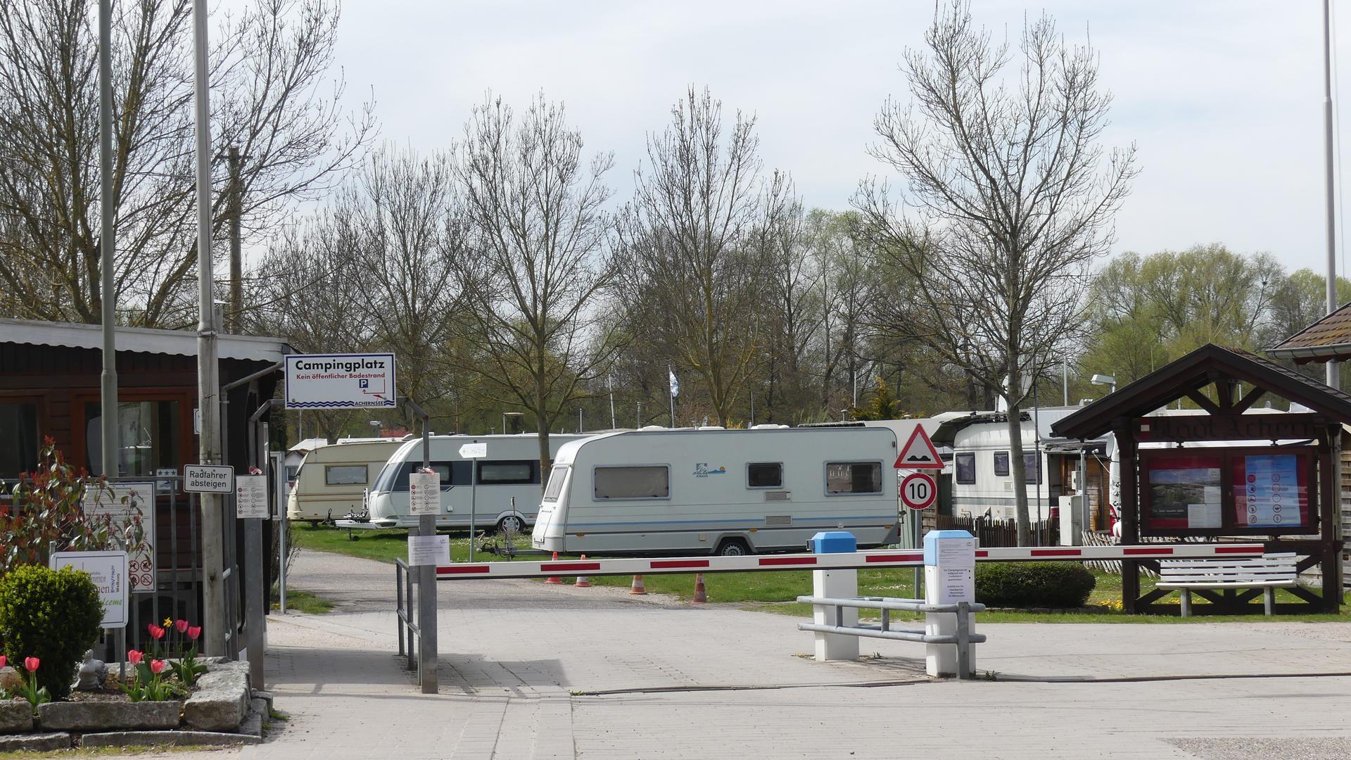 Campingplatz am Achernsee