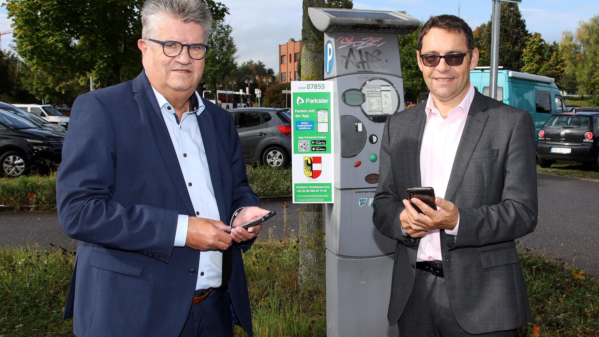 Digitale Park APP für Achern und Bühl vorgestellt