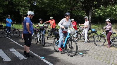 Fahrsicherheitstraining für E-Bikes in Achern