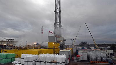 Suite au s�isme du mardi 12 novembre, l'activit� de l'entreprise Fonroche du forage g�othermique de Vendenheim - Reichstett est suspendue.