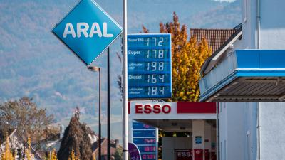 Tankstellen an der Fautenbacher Straße in Achern.