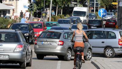 Hauptstraße in Achern