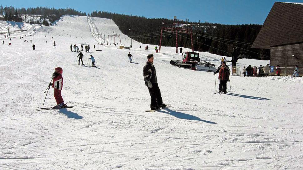 Neben vier unterschiedlich langen Liften gibt es am Mehliskopf einen kleinen Rodelhang, eine Ganzjahresbobbahn und einen Snowpark.