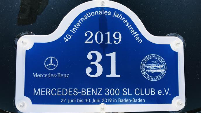 Exklusiver Club: Seit 1978 besteht der Mercedes-Benz 300 SL Club. Das er annähernd 300 Mitglieder hat, ist Zufall, heißt es.