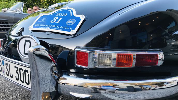 Gute Geldanlage: Ein Mercedes-Benz 300SL wird heute ab einer Million Euro aufwärts gehandelt.