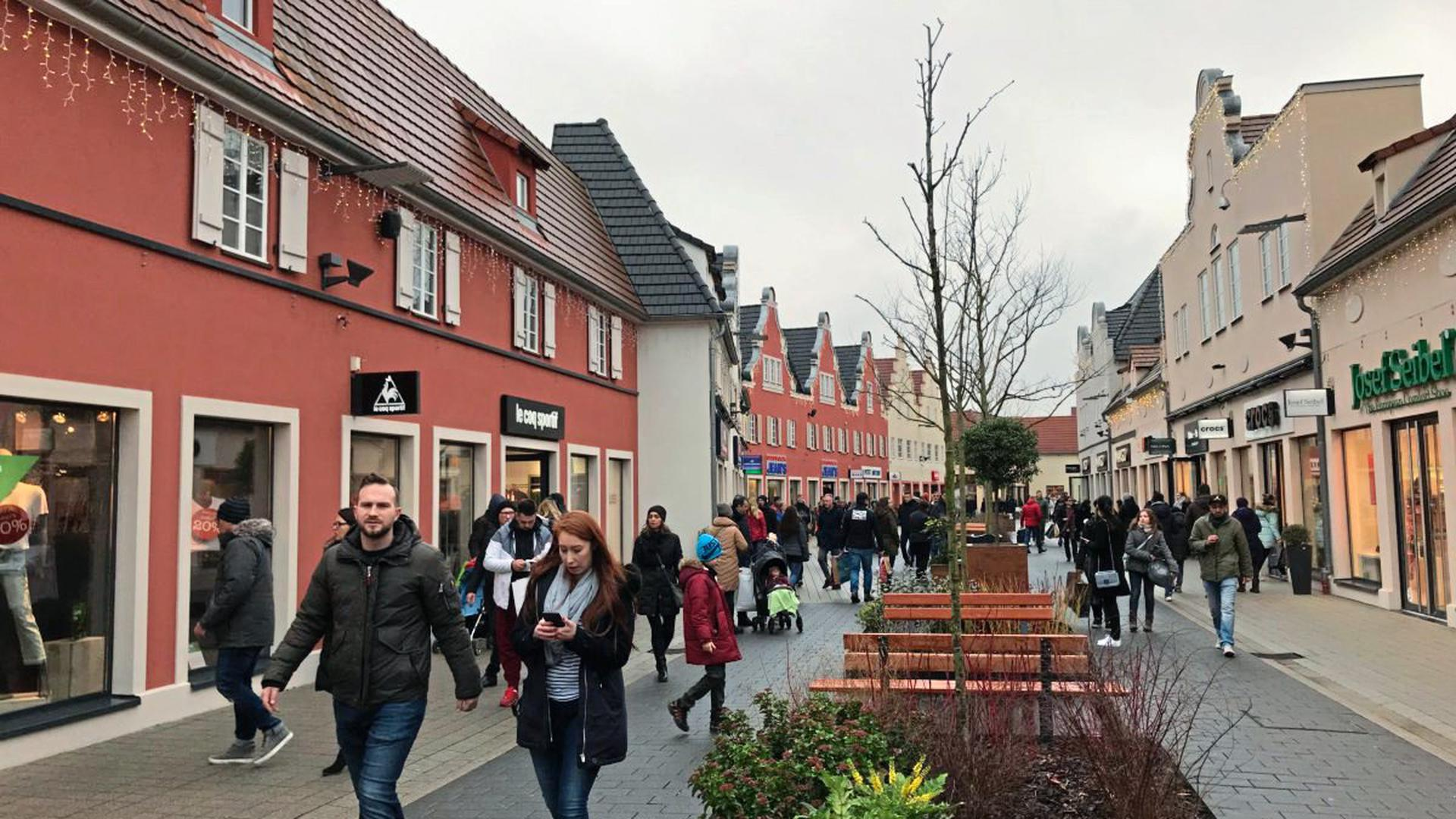 Das Outlet in Roppenheim