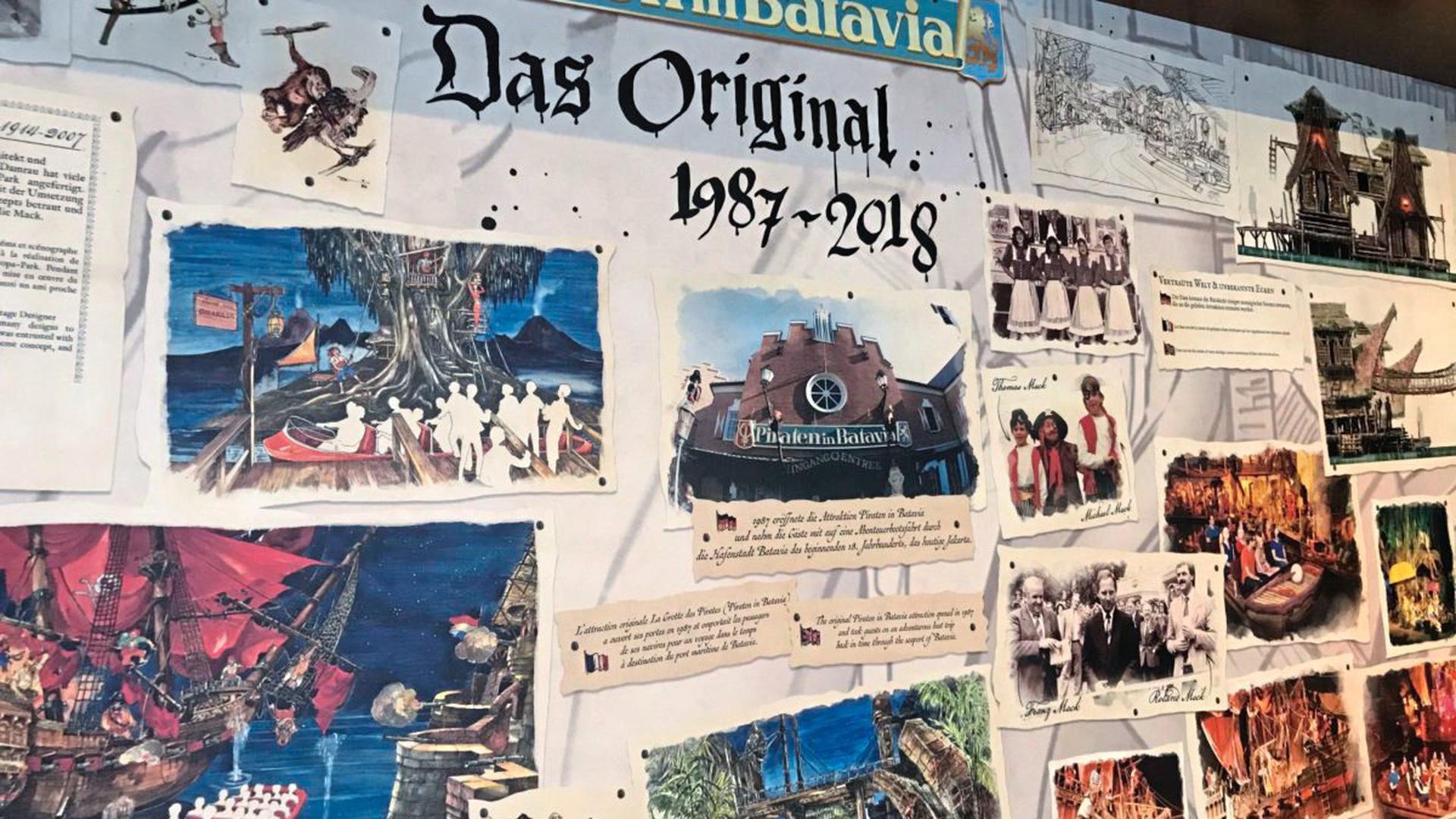 """Erinnerung im Europa-Park an die """"Piraten in Batavia"""""""