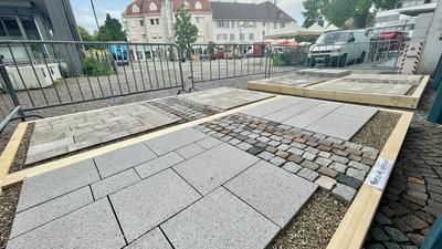 Bodenbelag Rathausplatz Achern