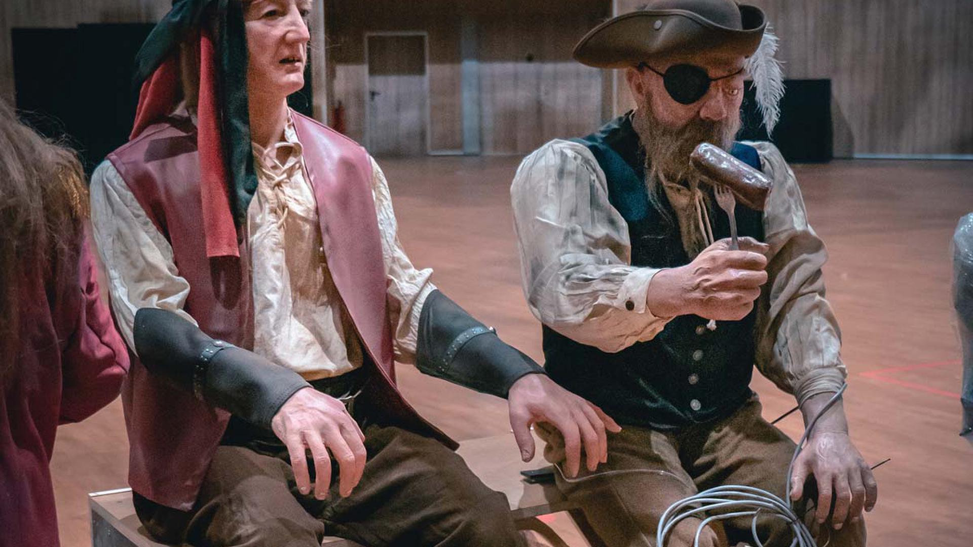 Die alten Piraten waren wesentlich billiger und weniger naturgetreu - Fans freuen sich aber auf ihre Rückkehr.