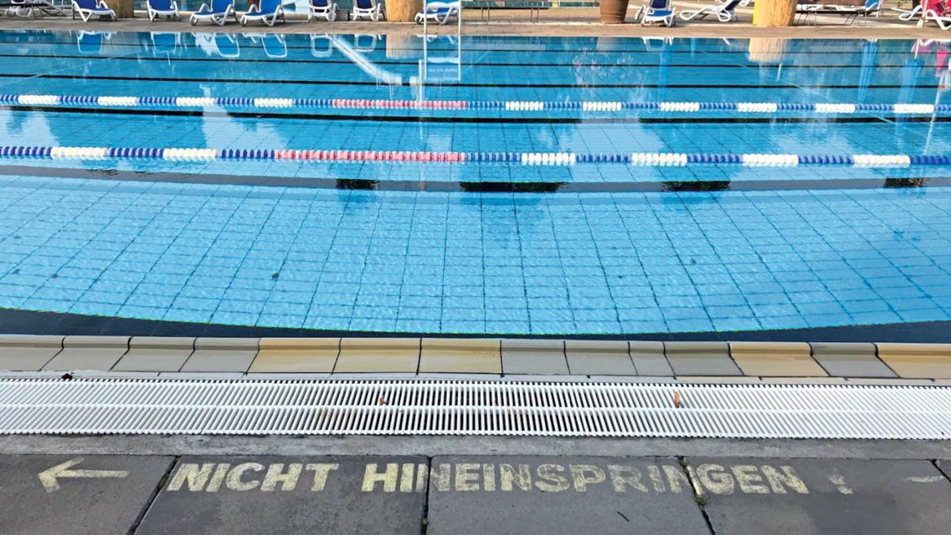 Das Karlsruher Sonnenbad hat von Mitte Februar bis Anfang Dezember geöffnet.