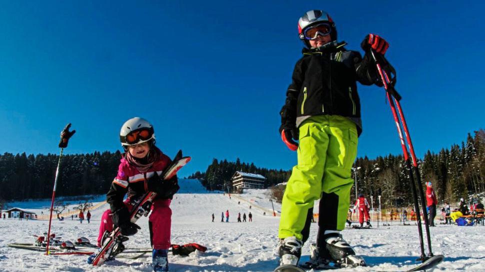 Neben einem großen Lift gibt es beim Skilift Stokinger in Freudenstadt-Lauterbad auch eine Variante für Kinder.