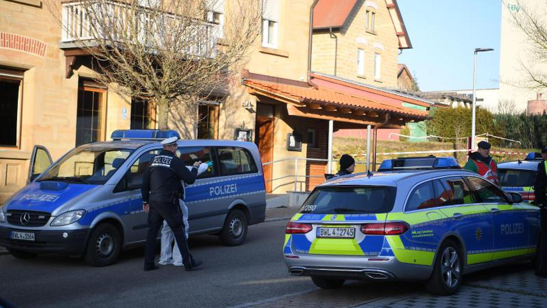 Polizeieinsatz in Rot am See