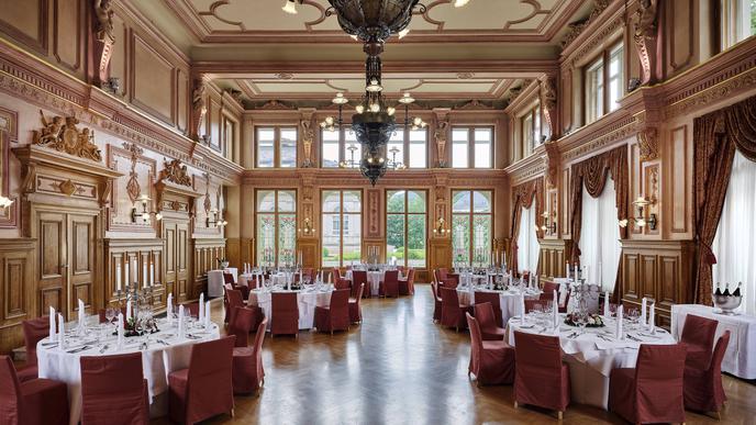 Im Stil der Belle Epoque: der Malersaal.