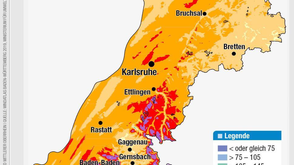 Windatlas Baden Württemberg