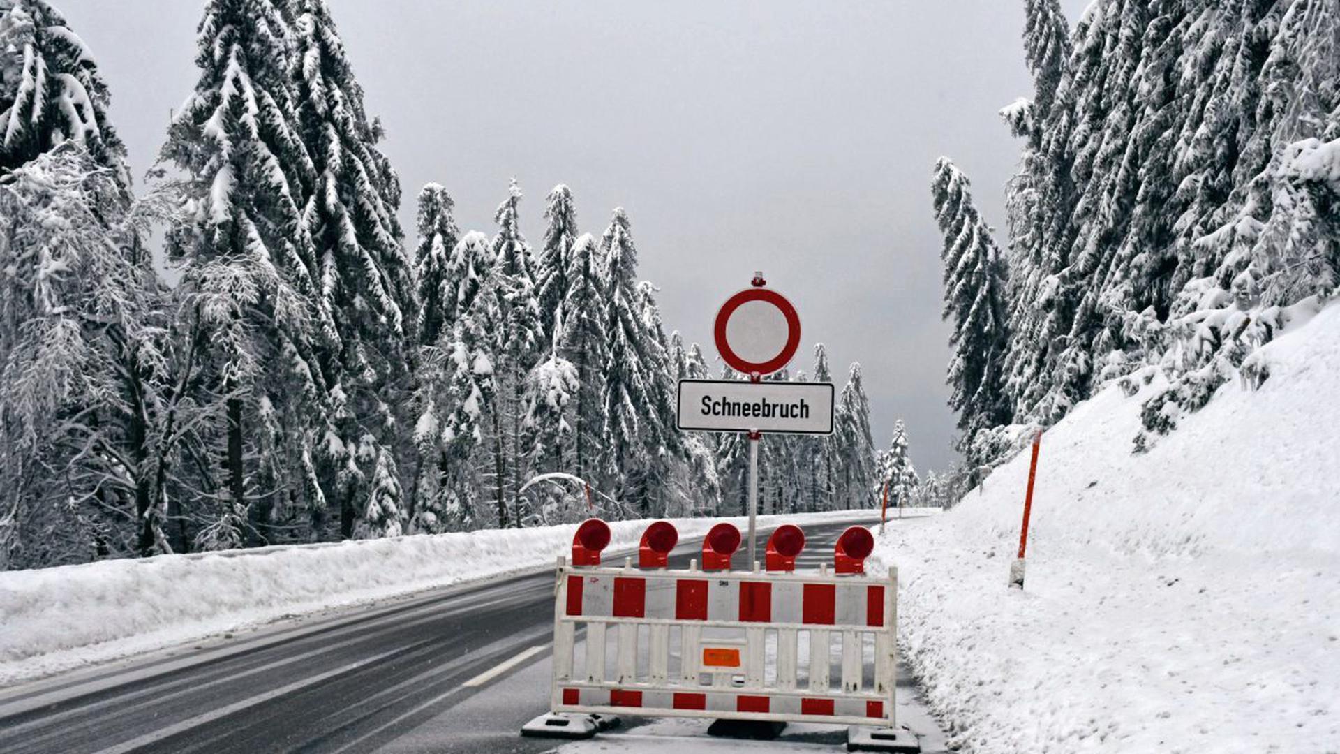 Schwarzwaldhochstraße Skilifte