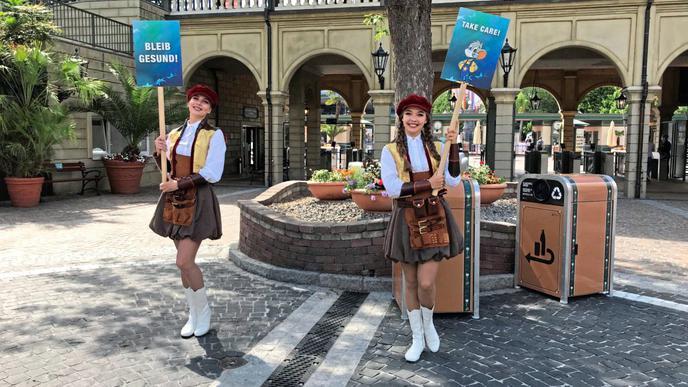 Regeln versucht der Europa-Park mit Spaß an seine Gäste zu transportieren.